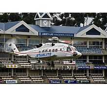 Sikorsky S-92 @ The Wanderers Cricket Stadium Photographic Print