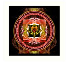 Chakras: 1 Root Chakra Art Print