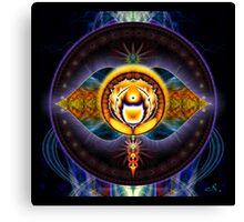 6th Chakra: Third Eye Canvas Print