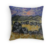 Stone Circle Throw Pillow