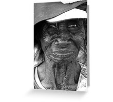 Mango Seller Greeting Card