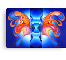 Opening Wings Canvas Print
