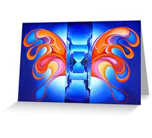 Opening Wings Greeting Card