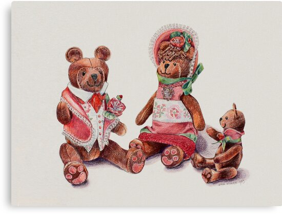 The Bear Family by arline wagner