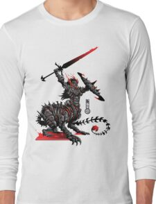 The Game of Kings, Wave Two: The Black King's Knight Long Sleeve T-Shirt