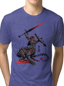 The Game of Kings, Wave Two: The Black King's Knight Tri-blend T-Shirt