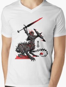 The Game of Kings, Wave Two: The Black King's Knight Mens V-Neck T-Shirt