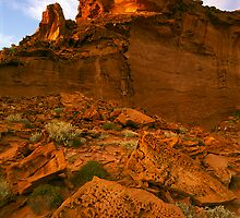 Rainbow Valley, Central Australia by Kevin McGennan