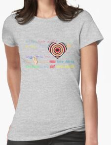 Love Darts ;) Womens Fitted T-Shirt