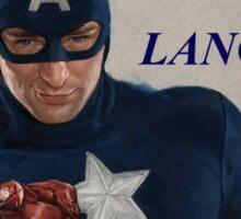 Captain America Quote Sticker