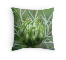 Daucus carota Throw Pillow