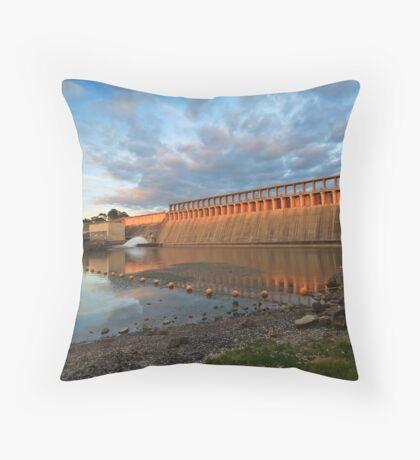 Hume Dam Throw Pillow