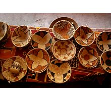 Baskets Photographic Print