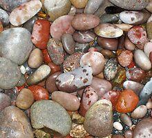 Scottish Coastal Stones by A Leung