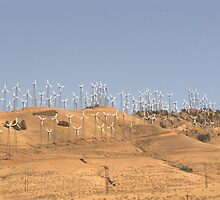 California wind farm by keekster