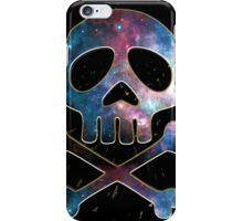 Space Pirate, Skull, Crossbones, Captain, Bone, Anime, Comic iPhone Case/Skin