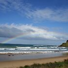 Great Ocean Road Rainbow by liquidlines