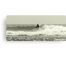 Snappper Rocks Surfer Canvas Print