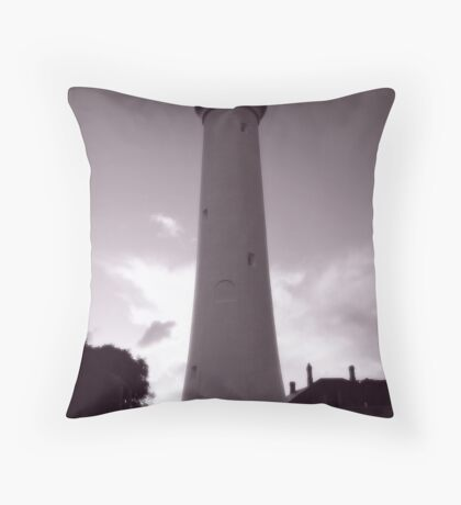 Aireys Inlet - Lighthouse Throw Pillow