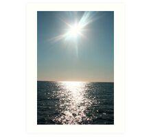 Ocean Romance Art Print