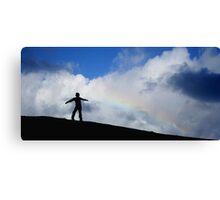 Rainbow boy Canvas Print
