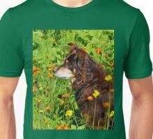 A Thoughtful Moment For  Australian Shepherd Unisex T-Shirt