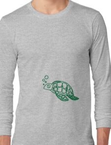 Bubble's The turtle Long Sleeve T-Shirt