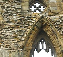 Whitby Abbey by A Leung