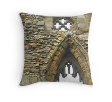 Whitby Abbey Throw Pillow
