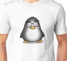 Eyebrow Penguin Unisex T-Shirt