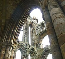 Whitby Abbey Ruins by A Leung