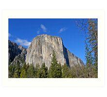 El Capitan ~ Yosemite National Park Art Print