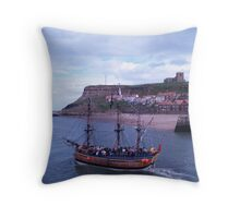 Whitby Bay Throw Pillow
