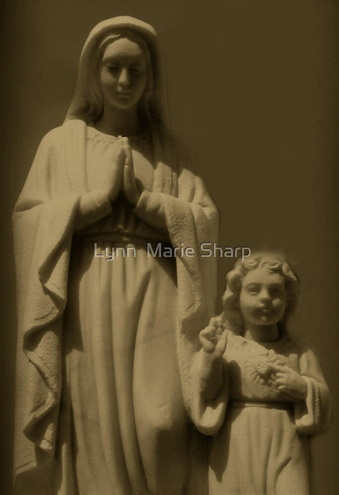 Mary and Jesus by Marie Sharp
