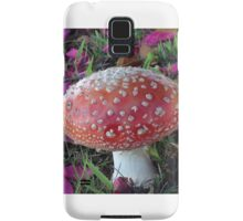 Fairy Toadstool Samsung Galaxy Case/Skin