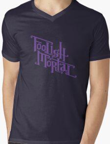 Foolish Mortal (Purple) Mens V-Neck T-Shirt