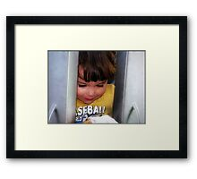 Hide and seek.... Framed Print