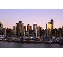 Vancouver Evening-1982 Photographic Print