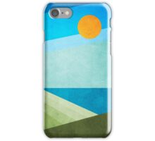 Green Fields Blue Waters iPhone Case/Skin