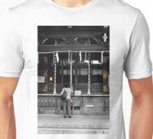 Autumn in Japan:  The Golden Shrine Unisex T-Shirt