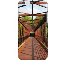 Angles And Lines Bridge iPhone Case/Skin