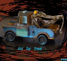 Old Toy Truck by Bea Godbee