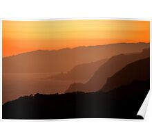 Marin Headlands Sunset Poster