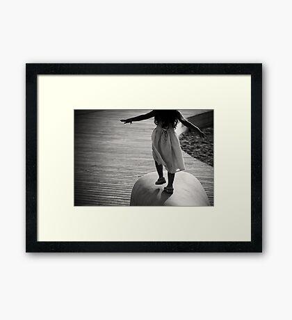 my sweet freedom  Framed Print