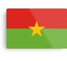 Burkina, national id Metal Print