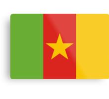 Cameroon, national id Metal Print