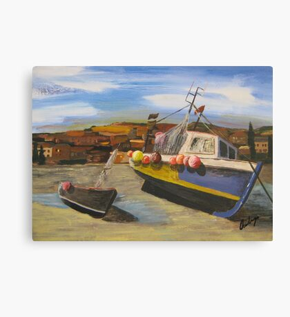 Harbour Side Canvas Print