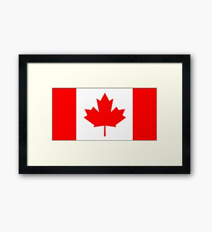 Canada, national id Framed Print