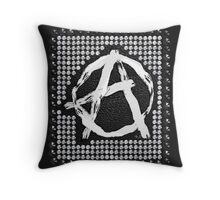 A for anarchy Throw Pillow