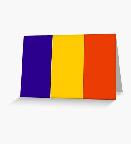 Chad, national id Greeting Card
